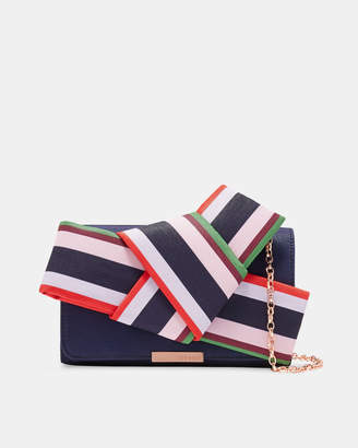 Ted Baker DANNYY Bay of Honour knot bow evening bag