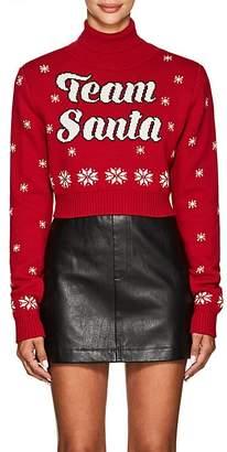 "Philosophy di Lorenzo Serafini Women's ""Team Santa"" Wool Crop Sweater"