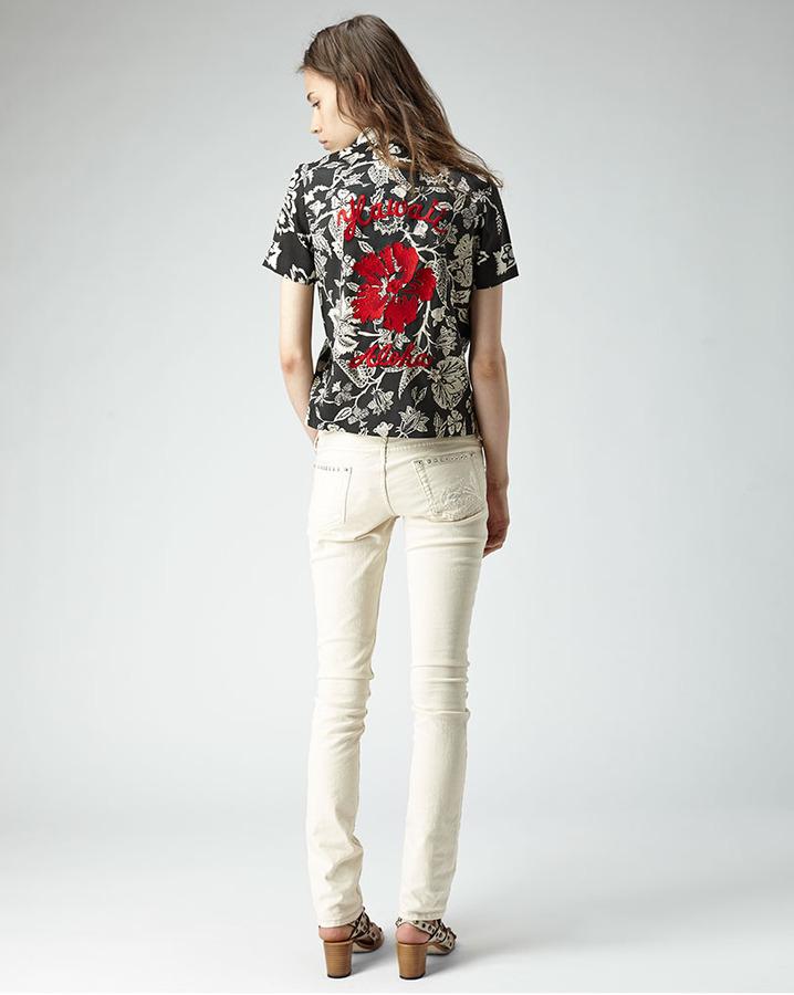 Isabel Marant mick hawaiian print shirt