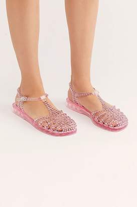 Jeffrey Campbell Time Travel Jelly Sandal