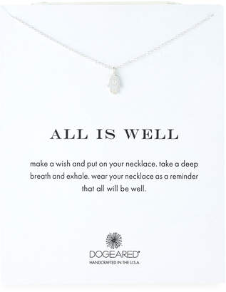 Dogeared Sterling Silver Hamsa Necklace