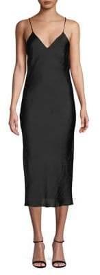 Topshop PETITE Satin Slip Dress