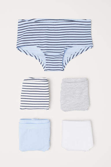 H&M - 5-pack Hipster Briefs - Blue