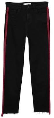MANGO Contrast panels jeans