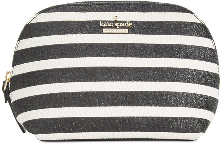 Kate Spade kate spade new york Hawthorne Lane Glitter Small Annabella Cosmetics Case