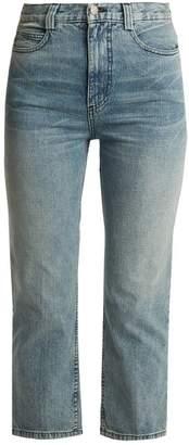 Rachel Comey Norm Slim Leg Cropped Jeans - Womens - Denim