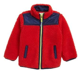 J.Crew crewcuts by Colorblock Fleece Jacket