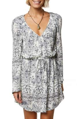 O'Neill Gretchen Bell Sleeve Blouson Dress