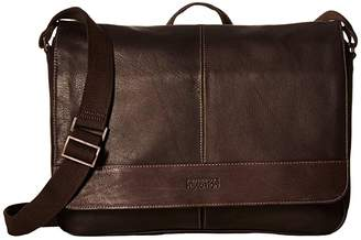 Kenneth Cole Reaction Colombian Leather 15 RFID Messenger Bag