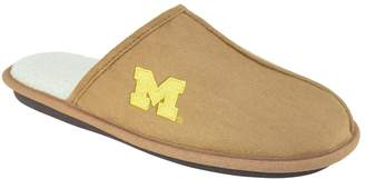 NCAA Kohl's Men's Michigan Wolverines Scuff Slipper Shoes