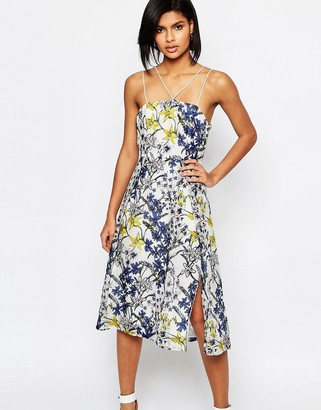 Whistles Bluebell Print Organza Dress $316 thestylecure.com