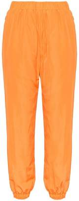 Sjyp logo waistband track pants