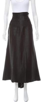 Alexander McQueen Woven Maxi Skirt