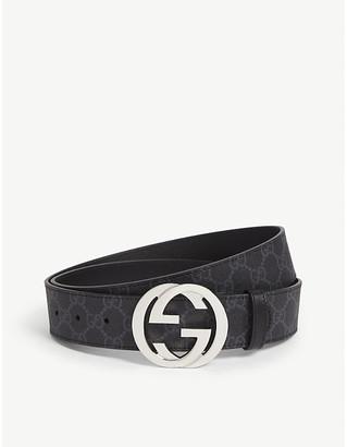 Gucci Supreme leather belt