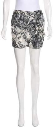 Edun Silk Mini Skirt