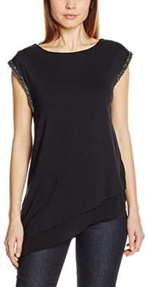 Wallis Women's Embellished Shoulder Blouses,(Manufacturer Size:L)