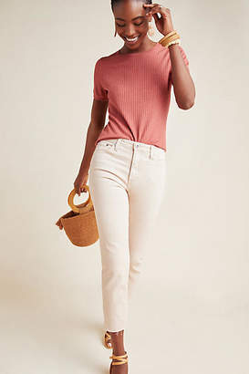 AG Jeans The Jodie High-Rise Cropped Flare Jeans