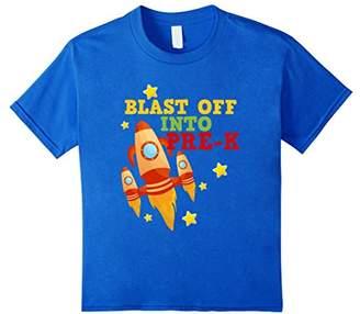 Blast Off Into Preschool Rocket Launch Back To Pre-K T-Shirt