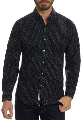 Robert Graham Phelan Dotted Long Sleeve Button-Down Shirt - 100% Exclusive