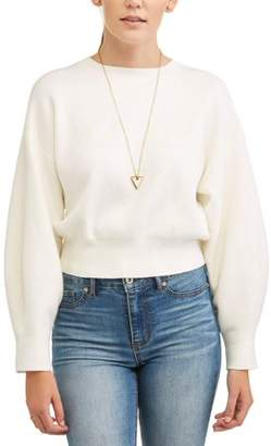 Lucca Couture Women's Miranda Crop Sweater
