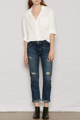 Current/Elliott Current Elliott Fling Loved-Destroy Jeans
