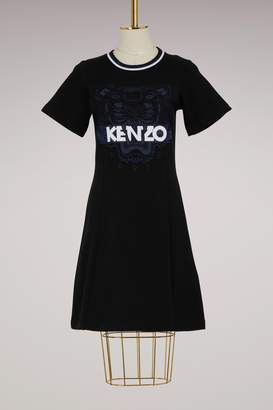 Kenzo Flared Cotton Dress