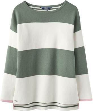 Joules Uma Milano Stripe Knitted Womens Jumper (Y) Laurel UK18 EU46 US14