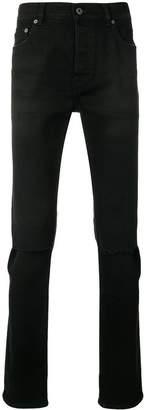 Valentino stitch detailed skinny jeans