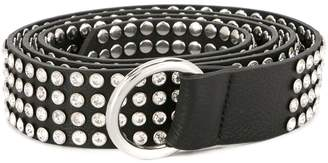 B-Low the Belt wide studded belt