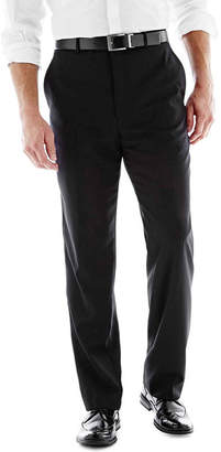 STAFFORD Stafford Executive Super 100 Wool Flat-Front Suit Pants - Classic