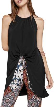 BCBGeneration Knot-Front Tunic Top