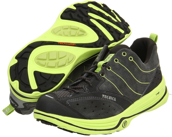 Tecnica Dragon X-Lite (Dark Grey/Lime) - Footwear
