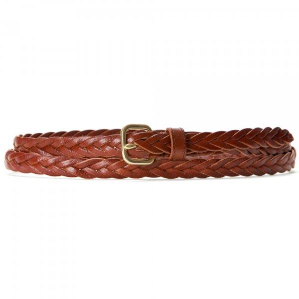 Women's Skinny Braided Belt