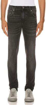 Nudie Jeans Tight Terry in Black Treats | FWRD