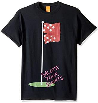 Nickelodeon Men's Salute Your Shorts Flag Pole T-Shirt