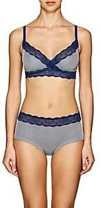 Cosabella Women's Sweet TreatsTM Lace-Trimmed Striped Bralette-Blue