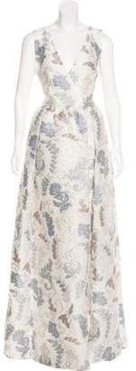Tory Burch Silk Blend Matelassé Gown w/ Tags