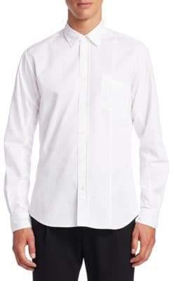 McQ Cotton Button-Front Shirt