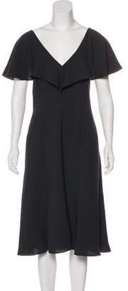 Black Halo A-Line Midi Dress w/ Tags