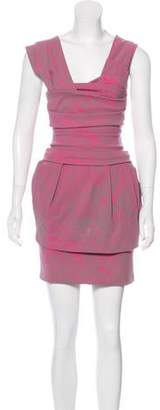 Preen by Thornton Bregazzi Printed Mini Dress
