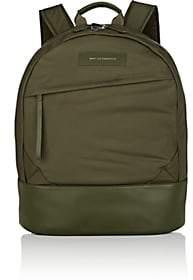 WANT Les Essentiels Men's Kastrup Leather-Trimmed Backpack - Dk. Green