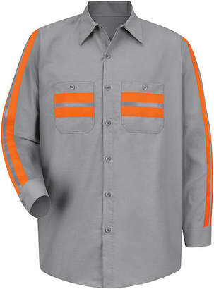 Red Kap Enhanced Visibility Work Shirt - Big & Tall