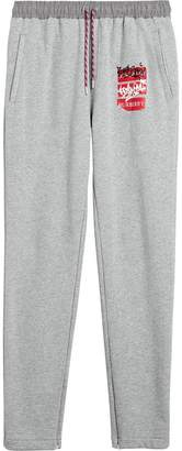 Burberry Graffitied Ticket Print Sweatpants
