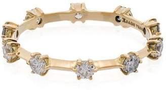 Jade Trau metallic Kismet 18K gold diamond ring