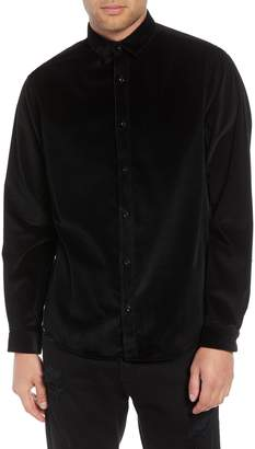 The Kooples Regular Fit Corduroy Shirt