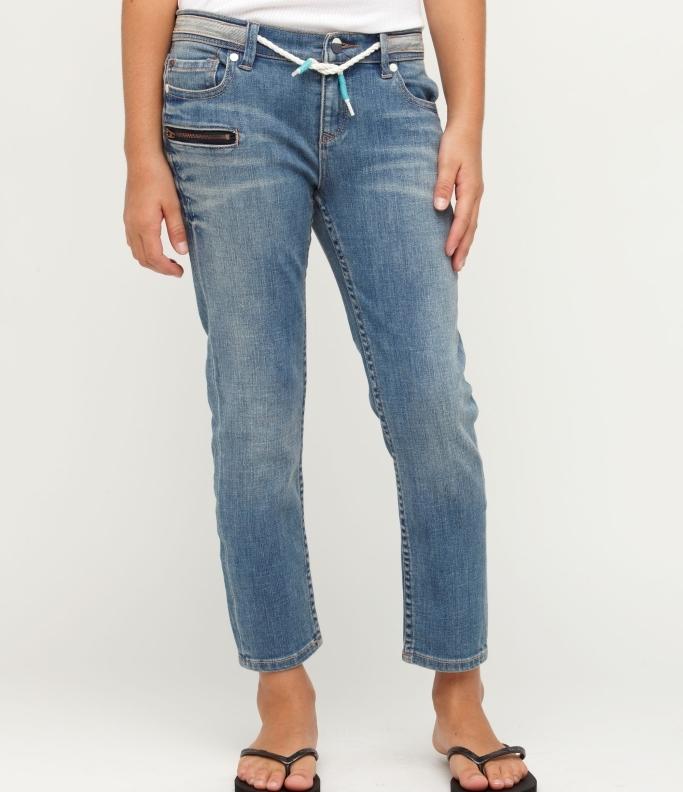 Roxy Girls 7-14 Gliders Jeans