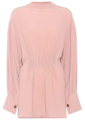 Marni Silk-blend oversized top