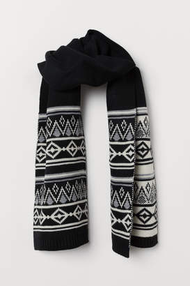 H&M Knit Scarf - Black