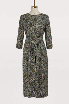 Vanessa Seward Aurore silk dress