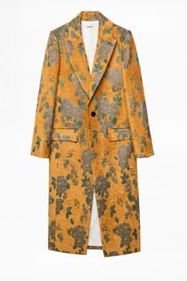 Zadig & Voltaire Monarque Velvet Coat